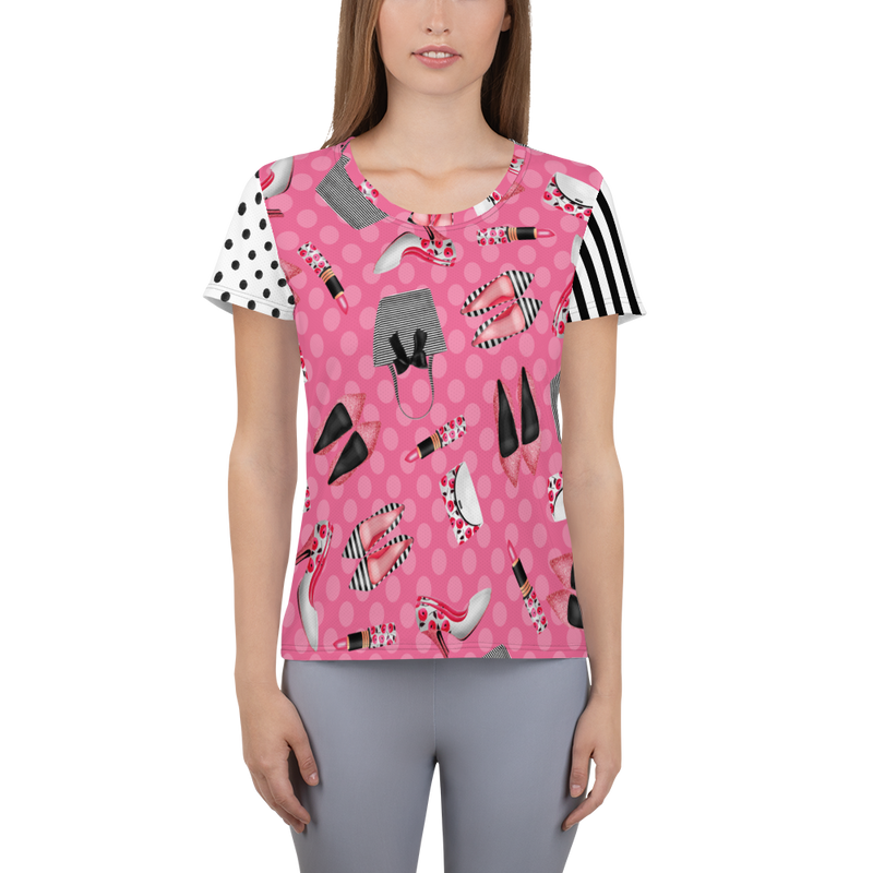 Glamour Girl Pink Supreme Athletic Top
