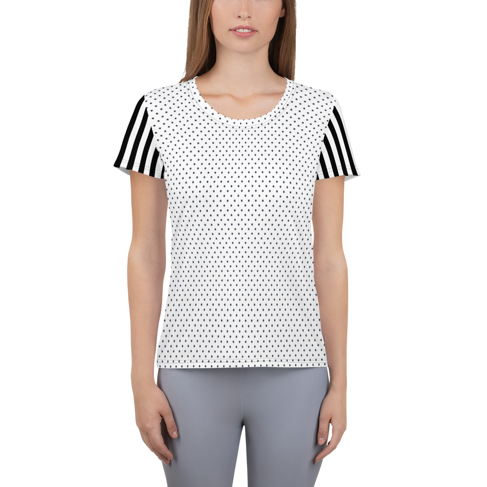 Regatta Stripe Dot Athletic Top