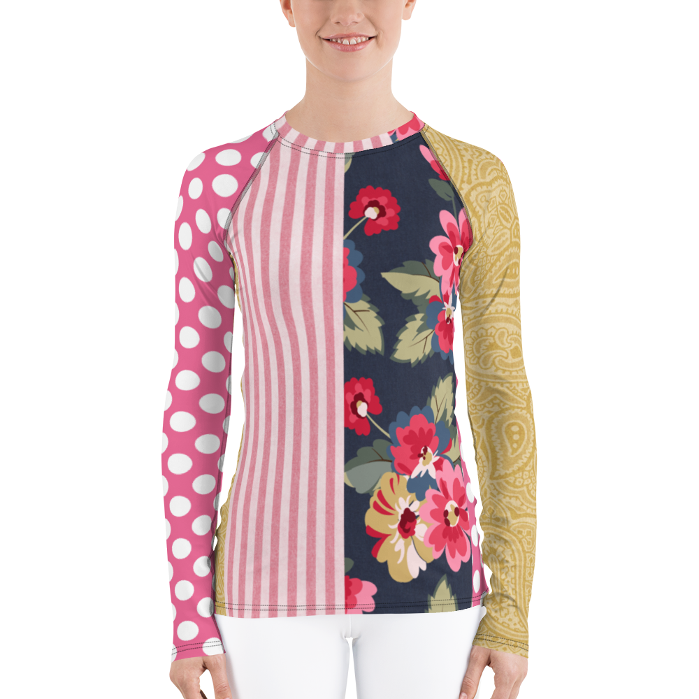 Country Rose Gypsy Rash Guard