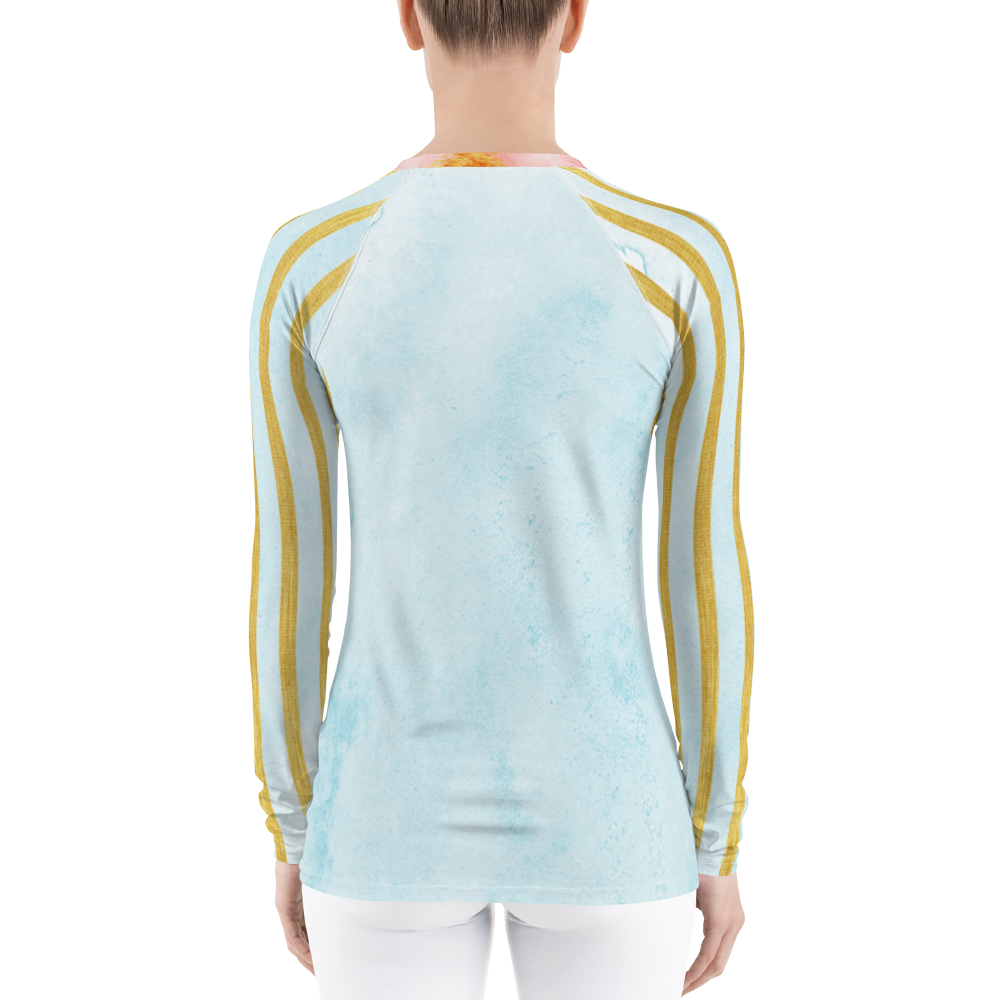 Golden Posie Rash Guard