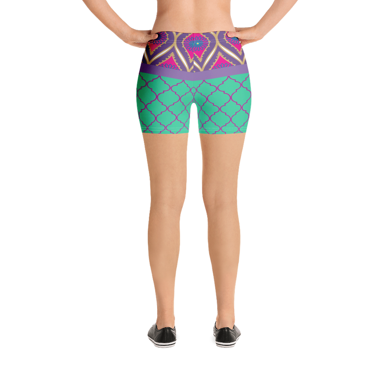 Sari Not Sorry II Shorts (Purple)