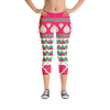 Sari Not Sorry Capri Leggings (Pink)