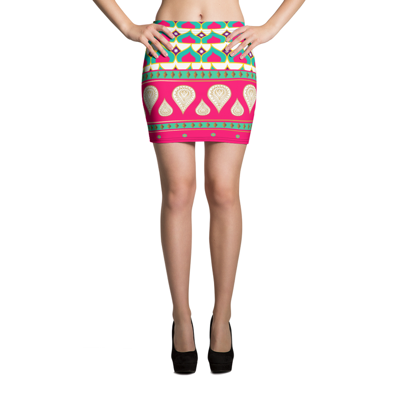 Sari Not Sorry Active Mini Skirt (Pink)