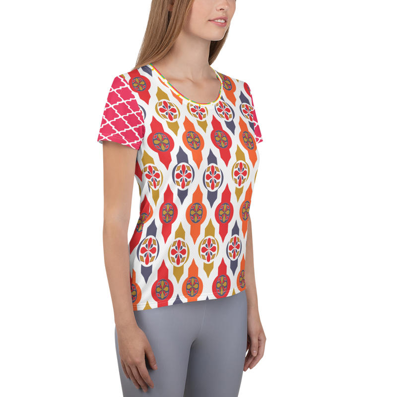 Sari Not Sorry II Athletic Top (Pink)