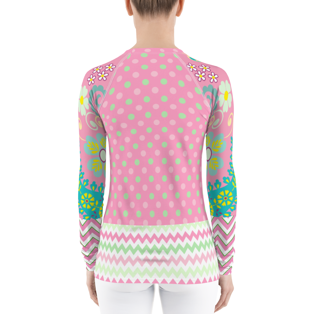 Pink Kelsey Rash Guard