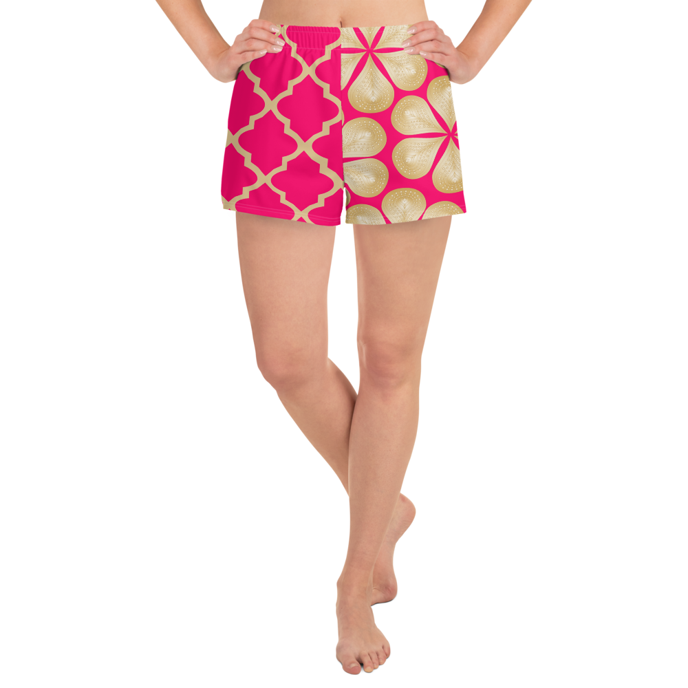 Sari Not Sorry Athletic Shorts (Pink)