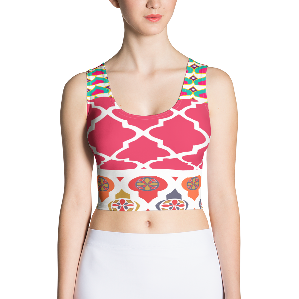 Sari Not Sorry Power Crop (Pink)