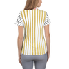 Posie Dot Striped Athletic Top