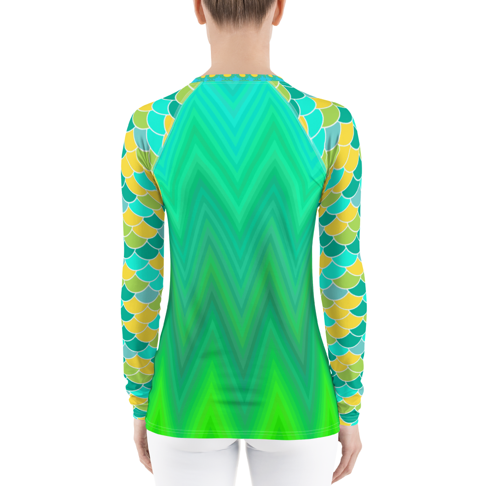 Green Bayou Rash Guard