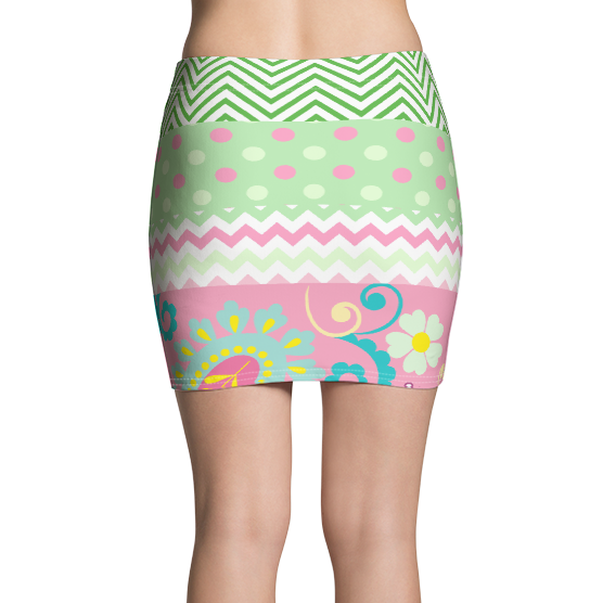 Pink Kelsey Rio Active Mini Skirt