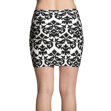 Regatta Stripe Scroll Active Mini Skirt