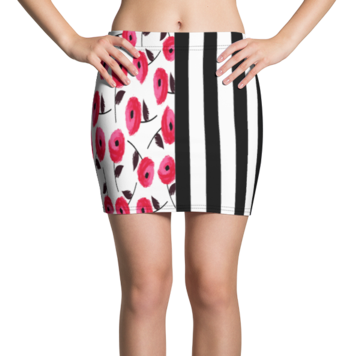 Regatta Stripe Gypsy Active Mini Skirt