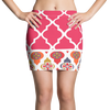 Sari Not Sorry Cerise Active Mini Skirt