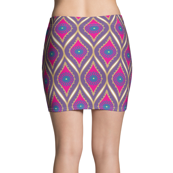 Sari Not Sorry II Active Mini Skirt (Purple)
