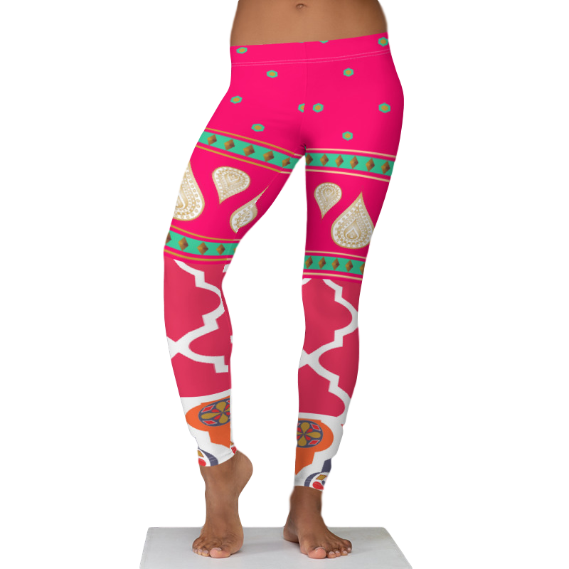 Sari Not Sorry Leggings (Pink)