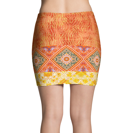 Sunrise Jubilee Active Mini Skirt