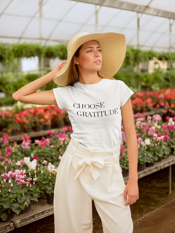 Choose Gratitude - T-shirt (8 Colors Available)