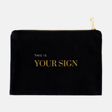 Black Cosmetic Bag (15 Affirmations)