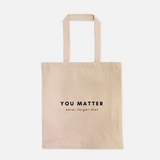 Neutral Heavy Duty Tote Bag (15 Affirmations)