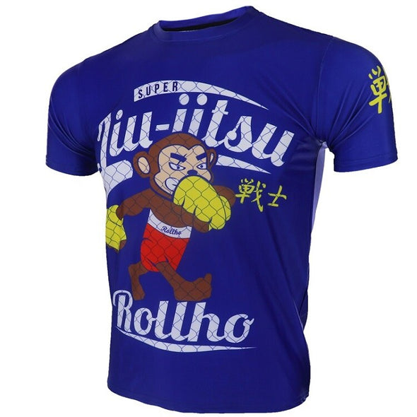 Super Jiu Jitsu Monkey Rash Guard - Men's