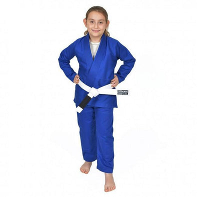 93 Brand Youth BJJ Gi - Blue