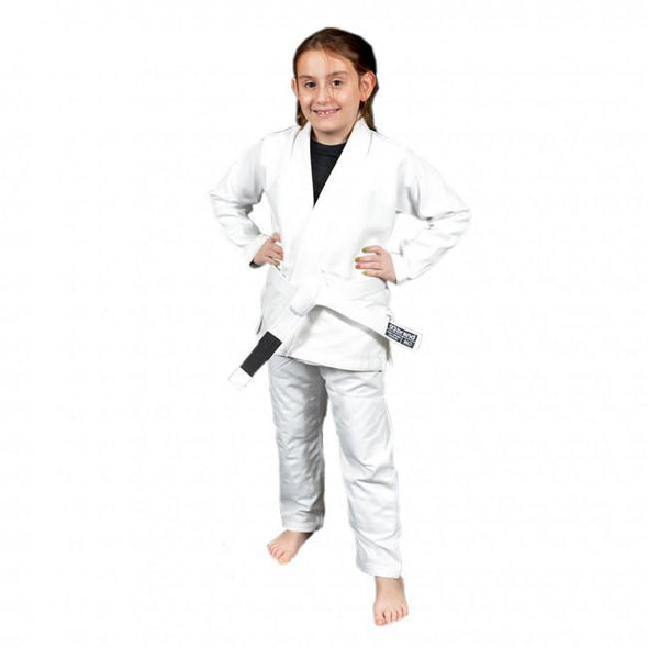 93 Brand Youth BJJ Gi - White
