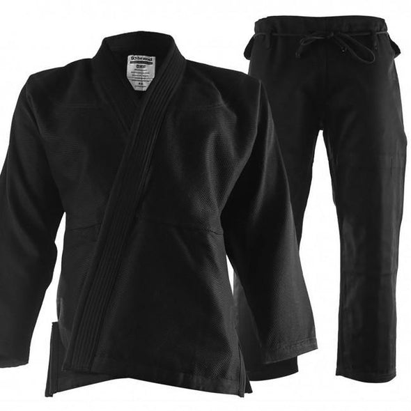 93 Brand Men's BJJ Gi – Black