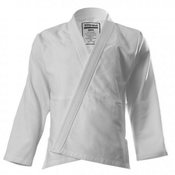 93 Brand Men's BJJ Gi - White