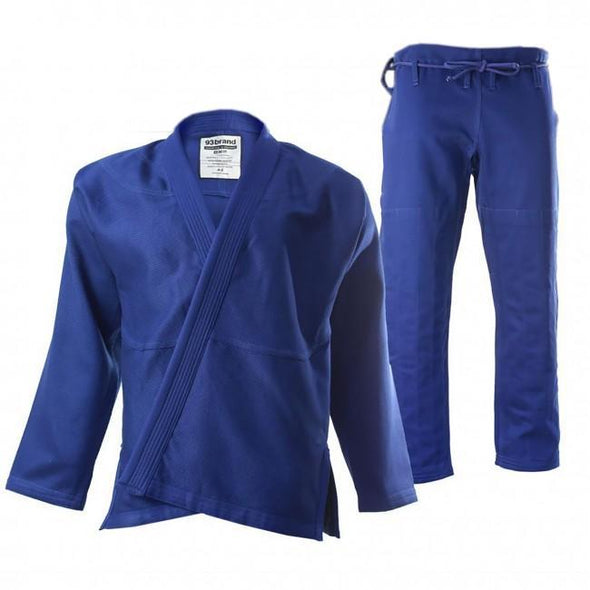 93 Brand Women's BJJ Gi - Blue