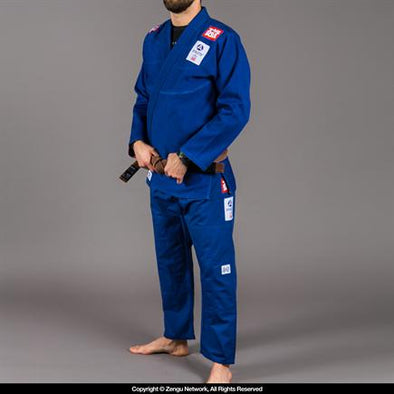 Scramble Athlete 2.0 Jiu Jitsu Uniform - Blue