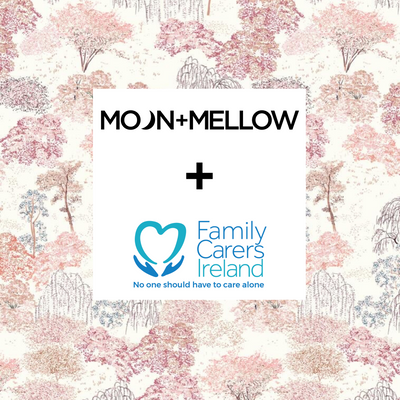 DID SOMEONE SAY FACE MASK - MOON + MELLOW COLLABORATE WITH FAMILY CARERS IRELAND