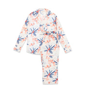 THE LONG SET - TROPICAL BIRD - 100% ORGANIC COTTON PYJAMAS