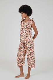THE BOW CAMI SET - DOT - 100% ORGANIC COTTON PYJAMAS