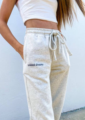 Wildest Dreams Joggers - Heather Gray