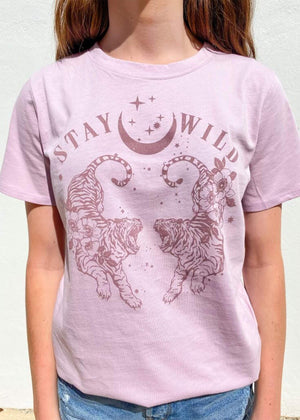 Stay Wild Graphic T-Shirt