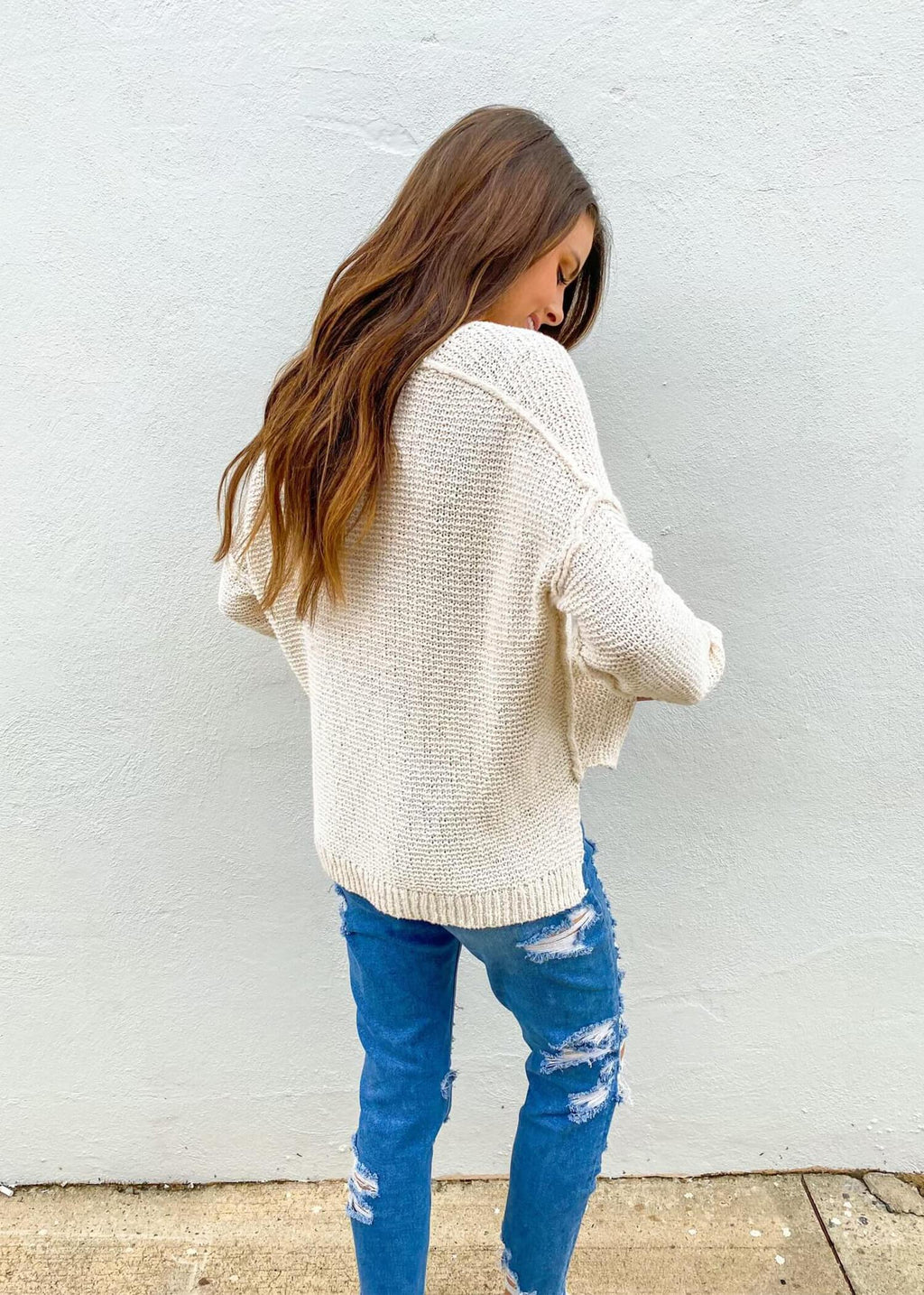 Warm Me Up Sweater - Ivory