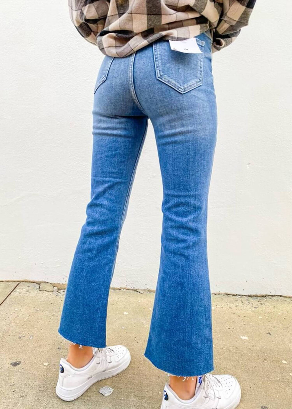 On The Move Flare Jeans -  Medium Denim
