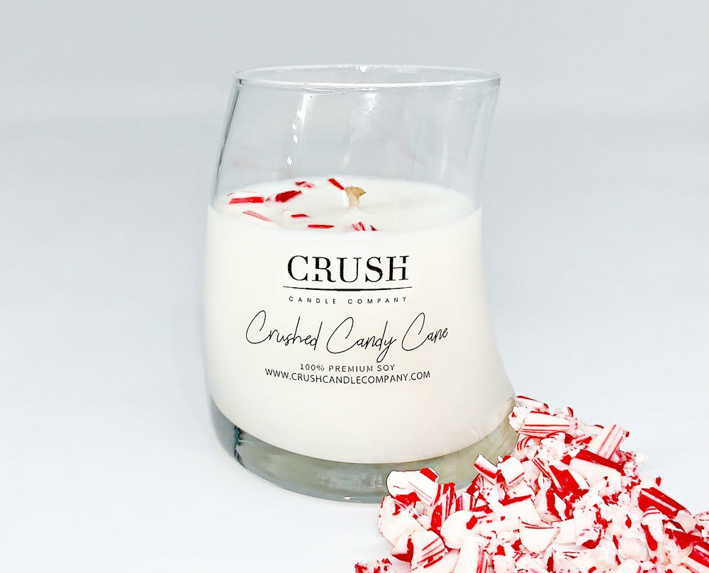 Crushed Candy Cane- Featuring Real Candy Canes ON TOP