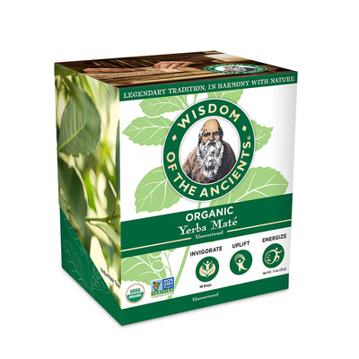 Organic Yerba Maté Tea Bags, 16 Servings