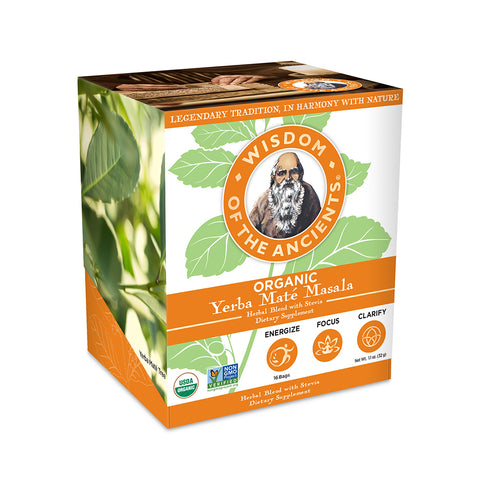 BOGO Offer-Yerba Maté Masala Tea Bags, 16 Servings