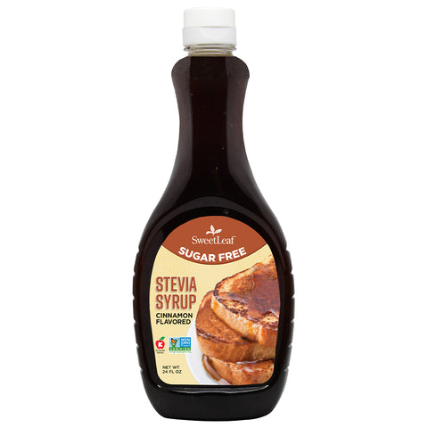 Stevia Syrup Cinnamon 24 Servings