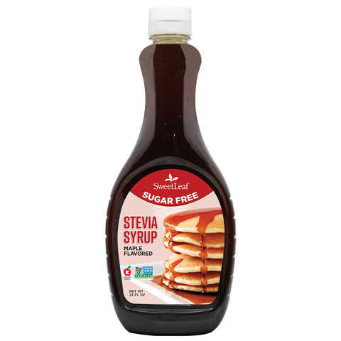 Stevia Syrup Maple 24 Servings