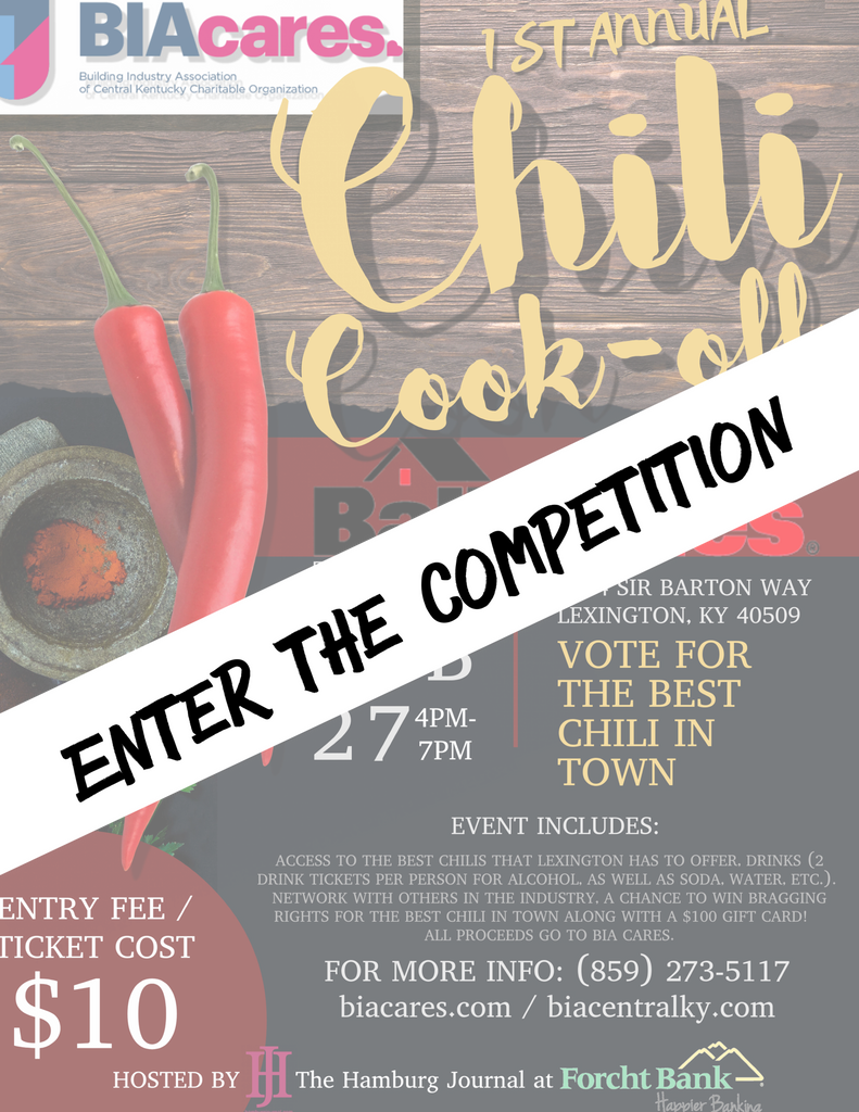 Chili Cook Off - Registration for Chili Competition