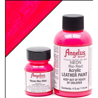 Angelus Acrylic Leather Paint - Neon