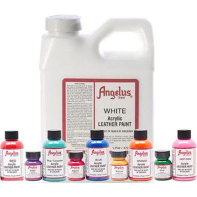 Angelus Acrylic Leather Paint - 16 oz.