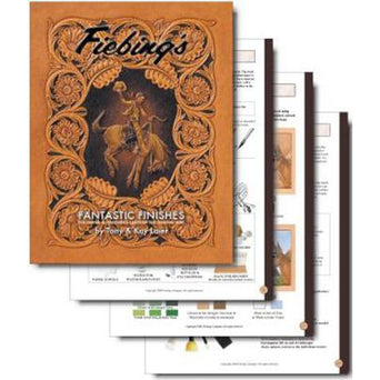 Fiebing/'s Leather Fantastic Finishes Book