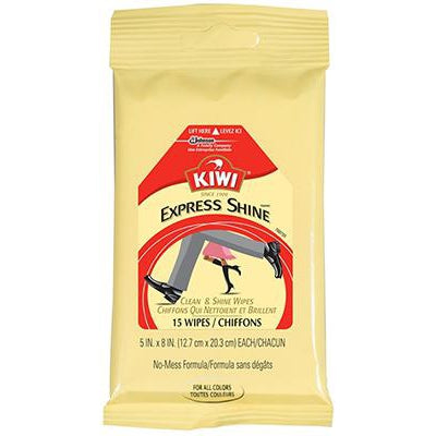Kiwi Express Shine Clean and Shine Wipes