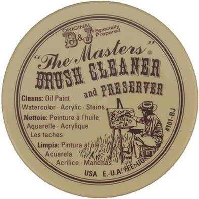 "B & J Original Formula ""The Masters"" Brush Cleaner and Preserver"