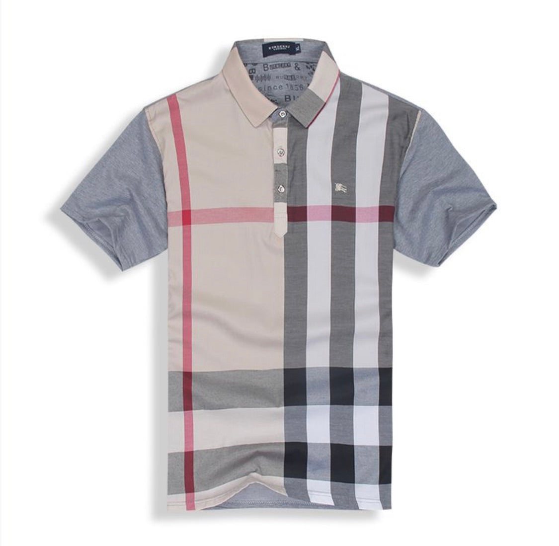 6652c8563 ... Load image into Gallery viewer, BURBERRY MENS POLO SHIRT ...