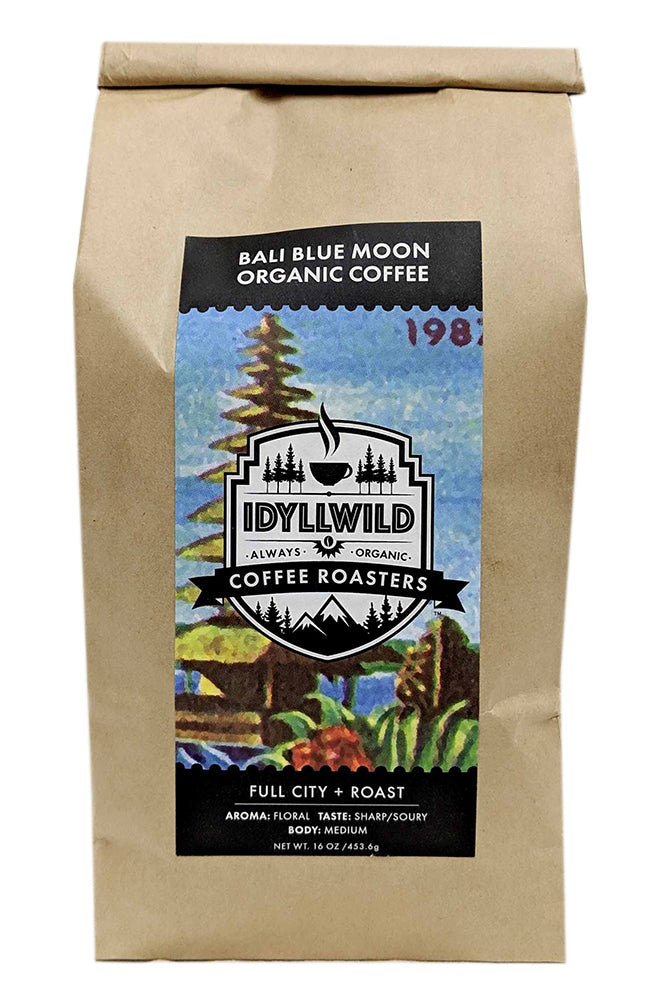 Bali Blue Moon is a sweeter, brighter cup than many of its Indonesian cousins, yet it maintains a smooth, refined chocolate earthiness and the rich full body that is the hallmark of the region.